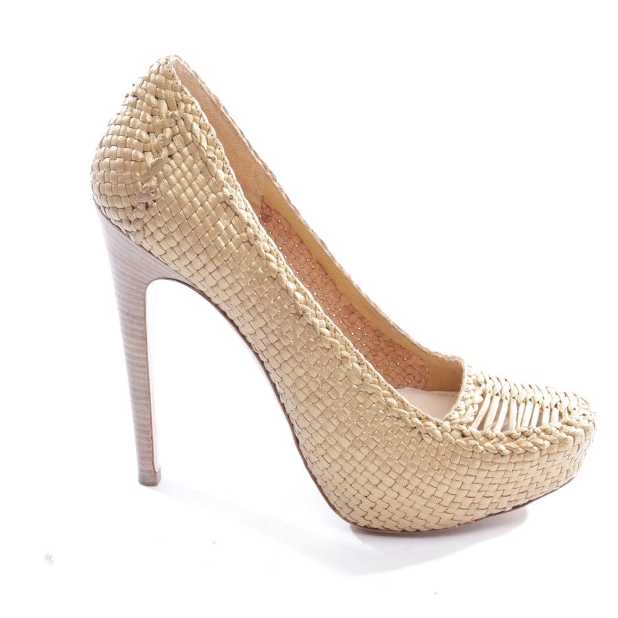 pumps from Prada in gold size D 39,5 - new
