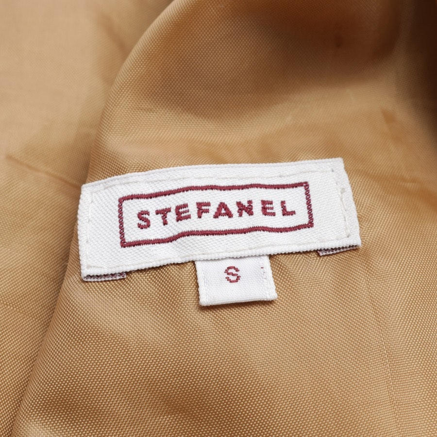 leather jacket from Stefanel in camel size S