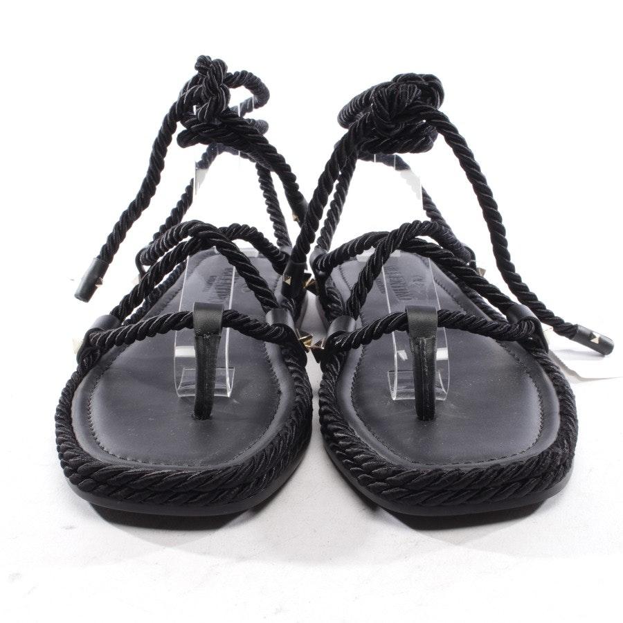 Sandalen von Valentino in Schwarz Gr. D 35 - Neu