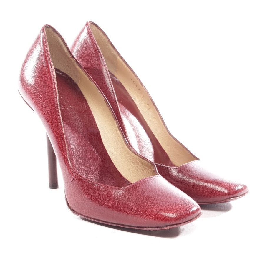 Pumps von Gucci in Bordeaux Gr. D 35