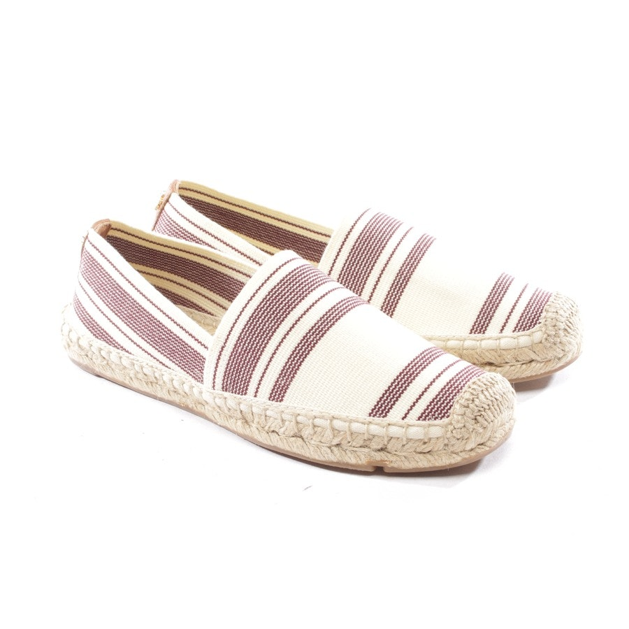 loafers from Tory Burch in cream and red size EUR 36,5 US 6 - new