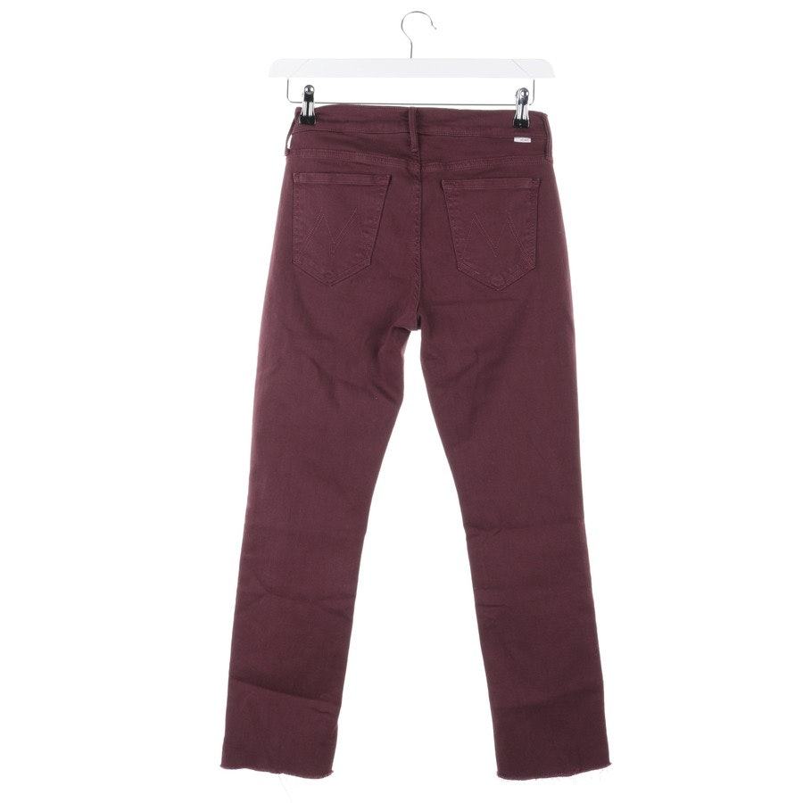 jeans from Mother in bordeaux size W27