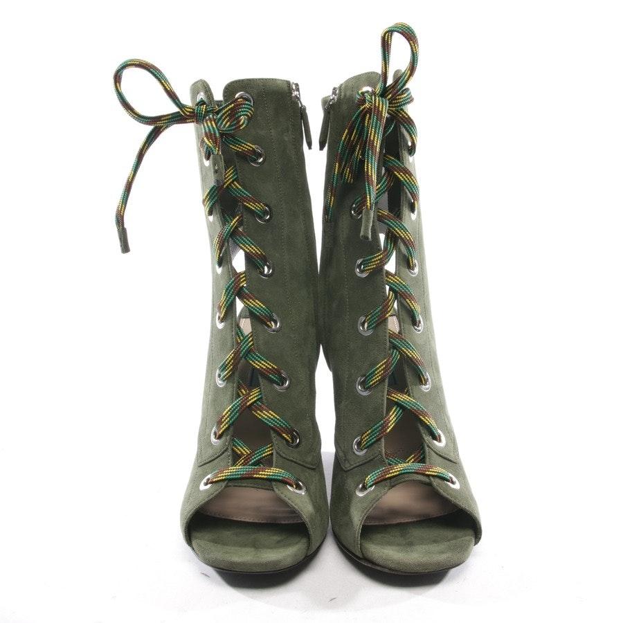 Stiefeletten von Prada in Olivgrün Gr. EUR 39 - Neu