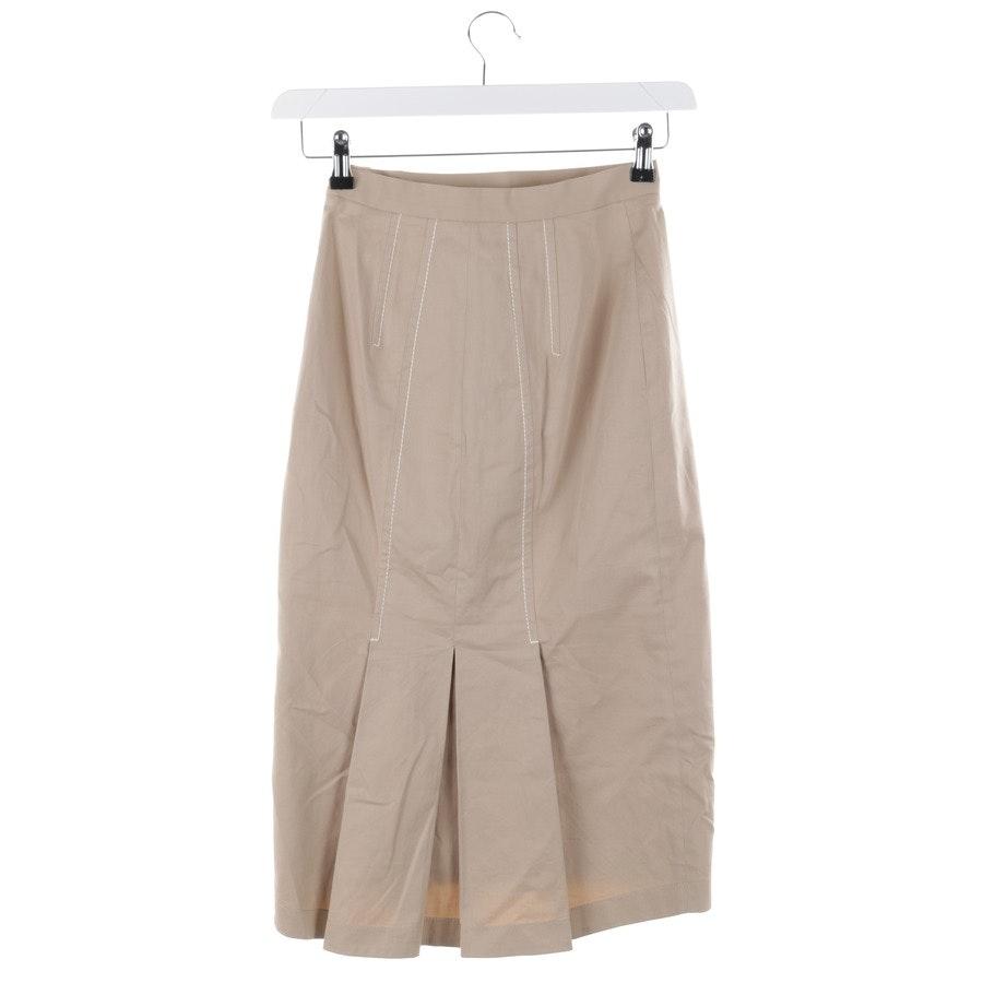 skirt from Prada in beige size 32 IT38