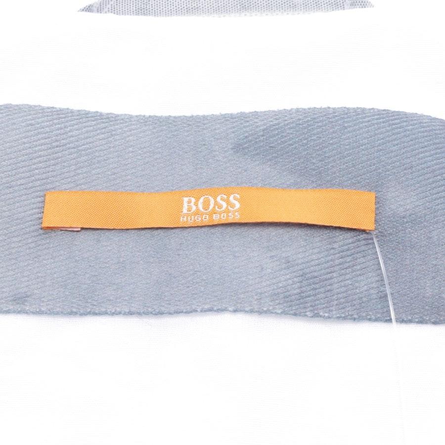 Sommerjacke von Hugo Boss Orange in Weiß Gr. 44