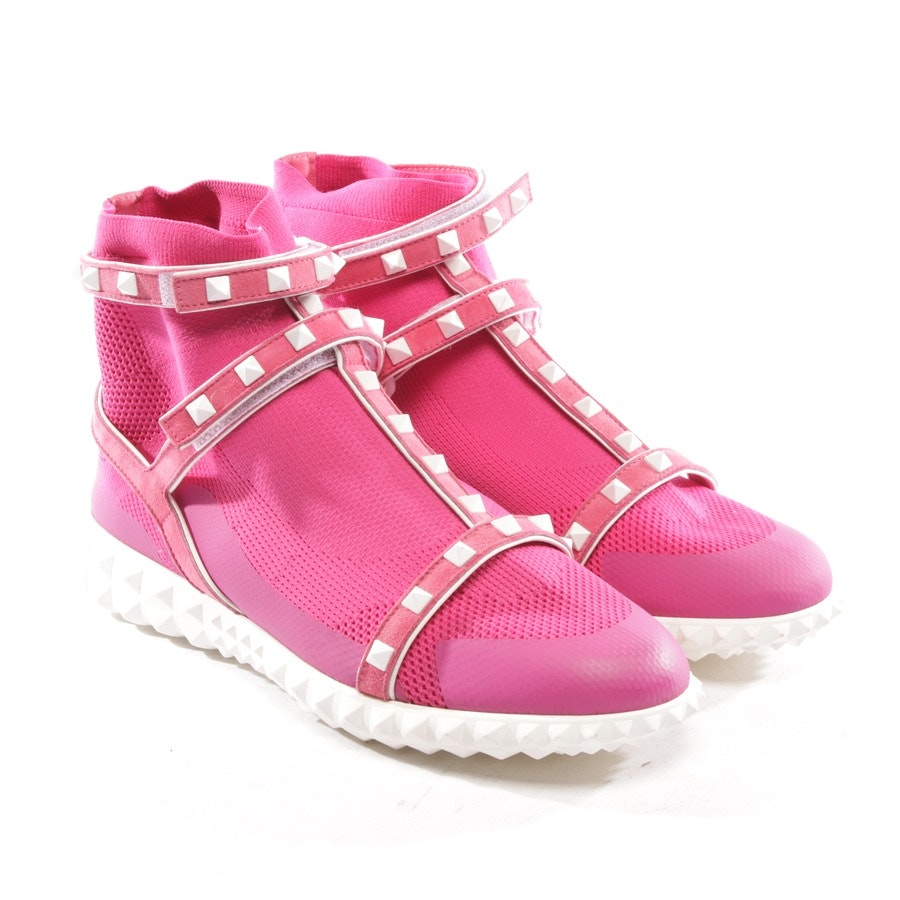 trainers from Valentino in shocking pink size D 39 - rockstud - new
