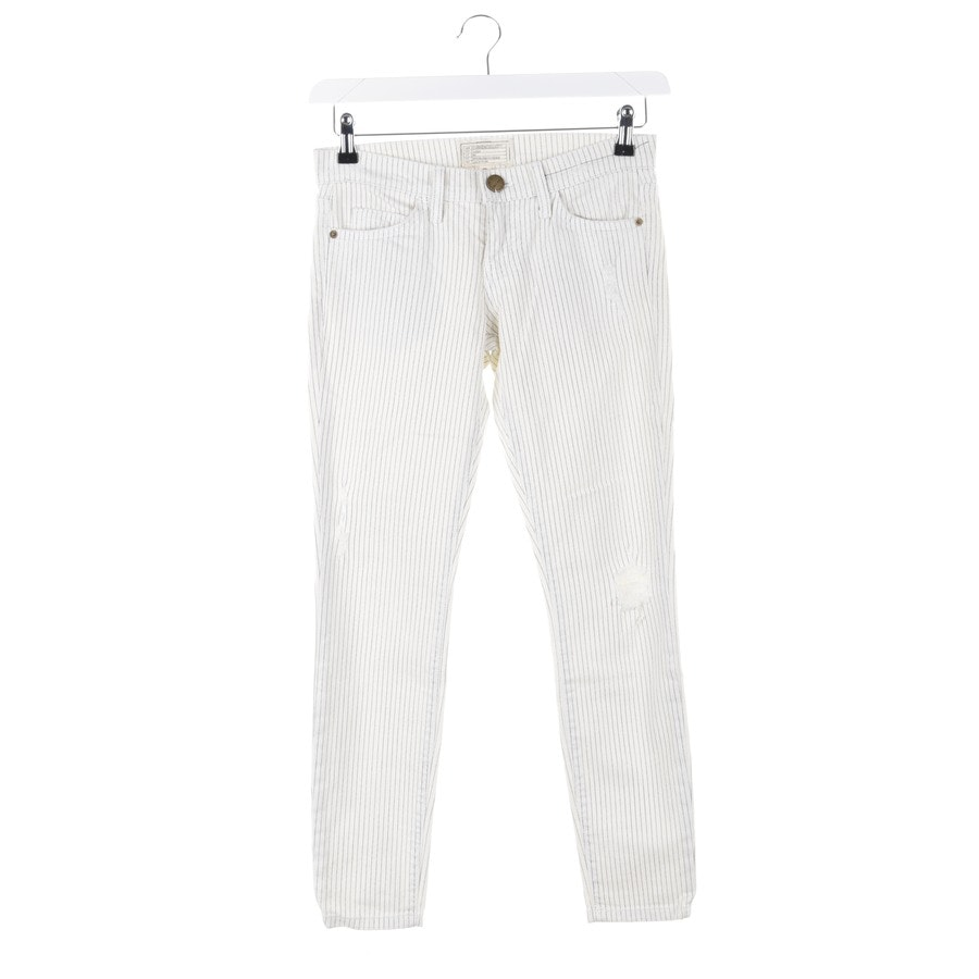 jeans from Current/Elliott in cream and blue size W24 - the stiletto