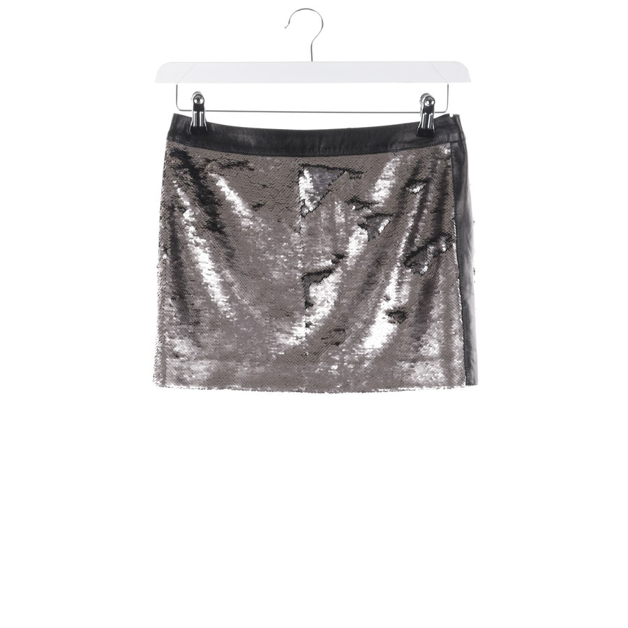 skirt from Plein Sud in silver and black size 34 FR 36