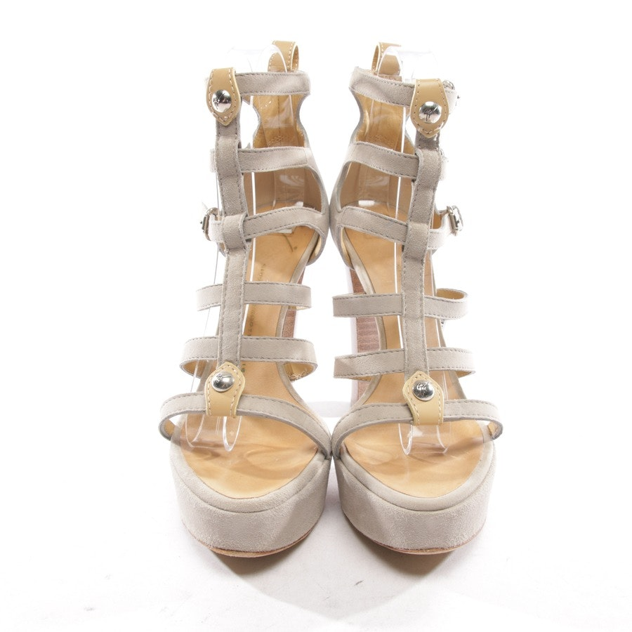 heeled sandals from Giuseppe Zanotti in taupe size D 38