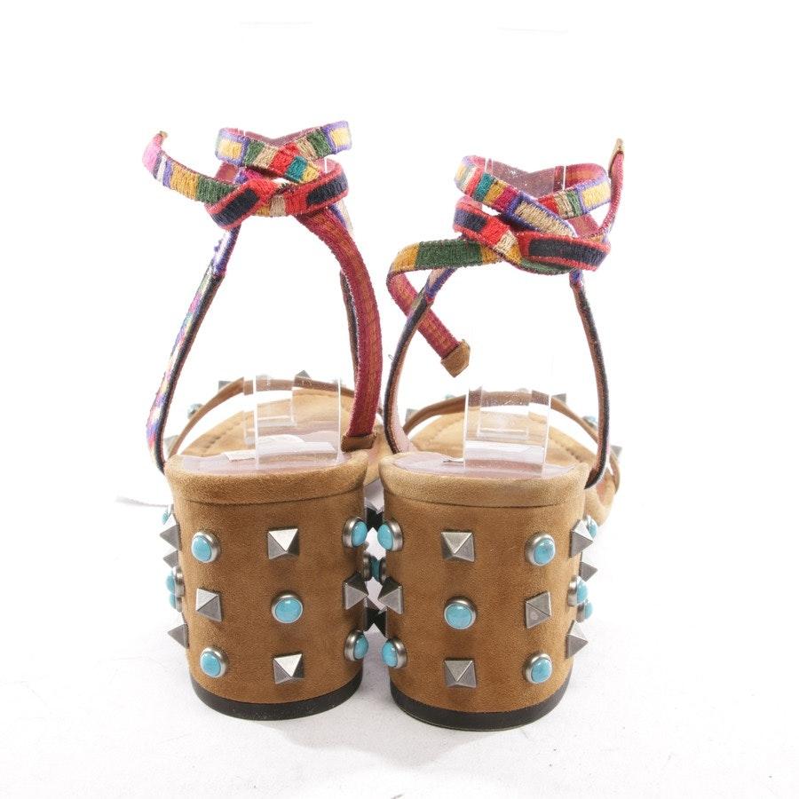 Sandaletten von Valentino in Camel Gr. D 38 - Rockstud