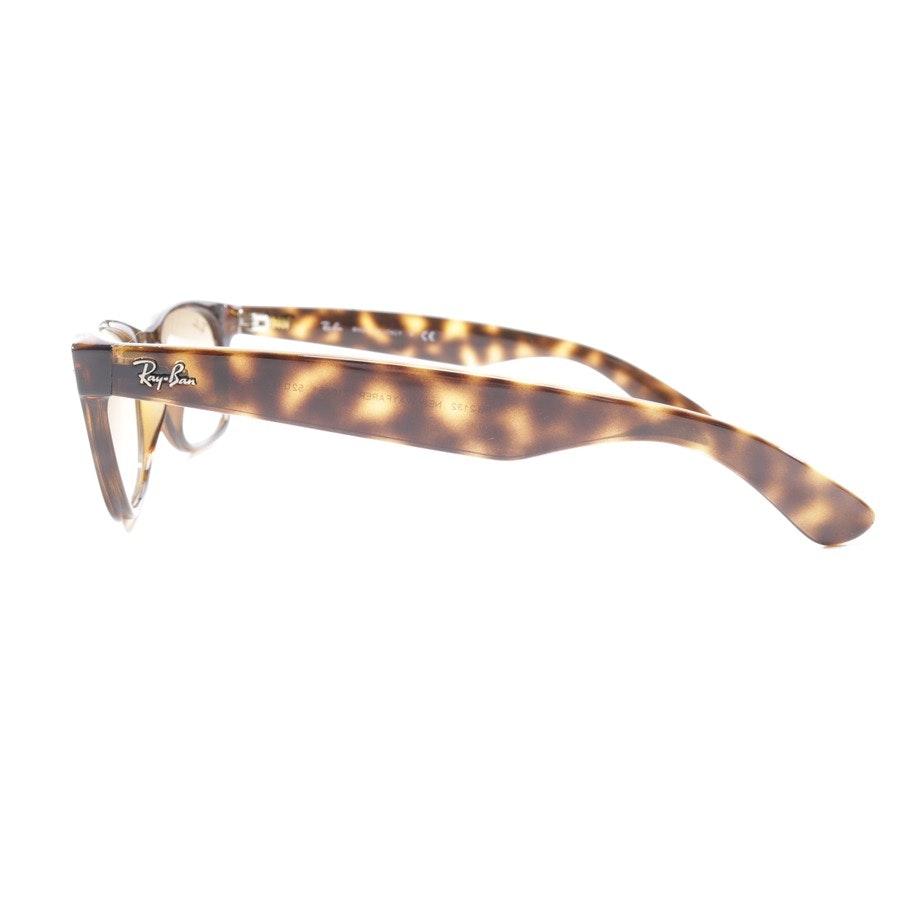 Sonnenbrille von Ray Ban in Braun und Grün - New Wayfarer