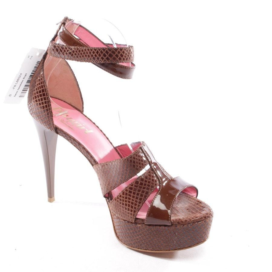 Sandaletten von Blugirl in Braun Gr. D 39 - Neu