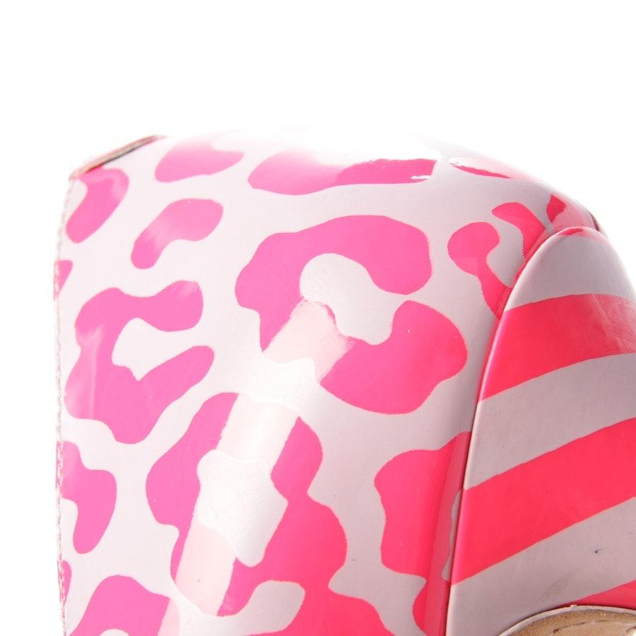 Pumps von Sophia Webster in Neon Pink und Lila Gr. D 38